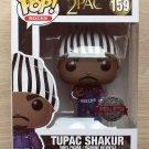 Funko Pop Rocks Tupac Shakur With Hoodie (Small Box Damage) + Free Protector