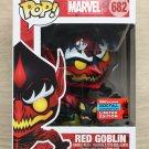 Funko Pop Marvel Red Goblin NYCC (Box Damage) + Free Protector