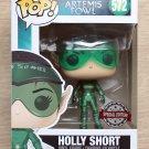 Funko Pop Disney Artemis Fowl Holly Short Metallic + Free Protector