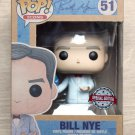 Funko Pop Icons Bill Nye With Globe + Free Protector