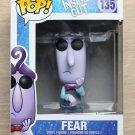 Funko Pop Disney Inside Out Fear + Free Protector