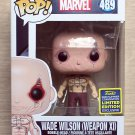 Funko Pop Marvel X-Men Wade Wilson Weapon XI SDCC + Free Protector