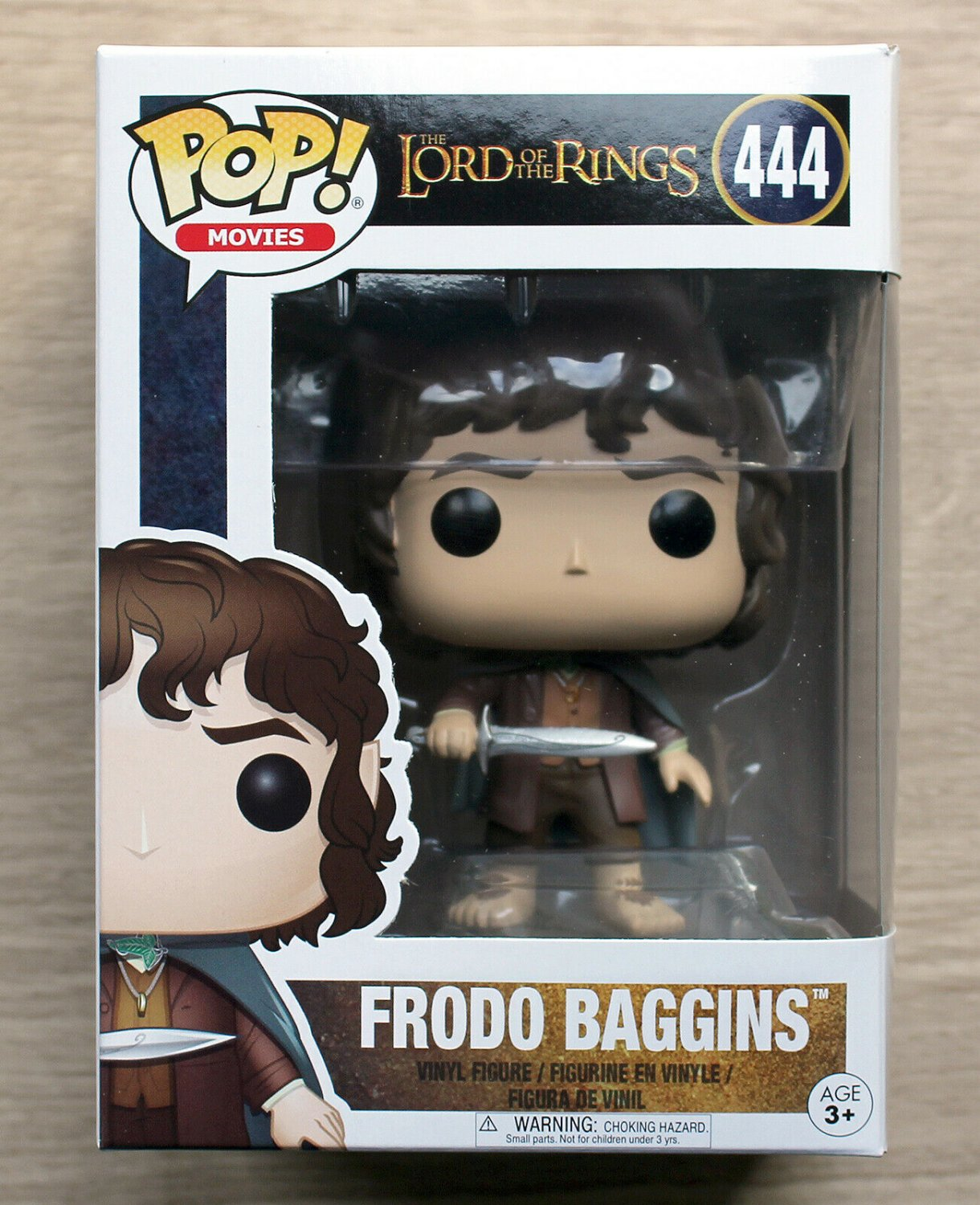 Funko Pop The Lord Of The Rings Frodo Baggins + Free Protector