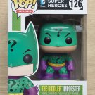 Funko Pop DC Heroes Batman The Riddler Imposter + Free Protector
