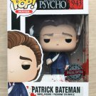 Funko Pop American Psycho Patrick Bateman With Knife + Free Protector