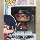 Funko Pop Boruto Naruto Next Generations Sarada Uchiha + Free Protector