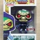 Funko Pop Masters Of The Universe Battle Armor Skeletor Metallic + Free Protectr