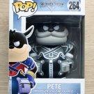 Funko Pop Disney Kingdom Of Hearts Pete B&W + Free Protector