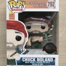 Funko Pop Cast Away Chuck Noland With Spear & Crab + Free Protector