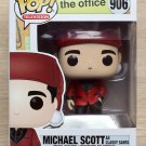 Funko Pop The Office Michael Scott As Classy Santa + Free Protector