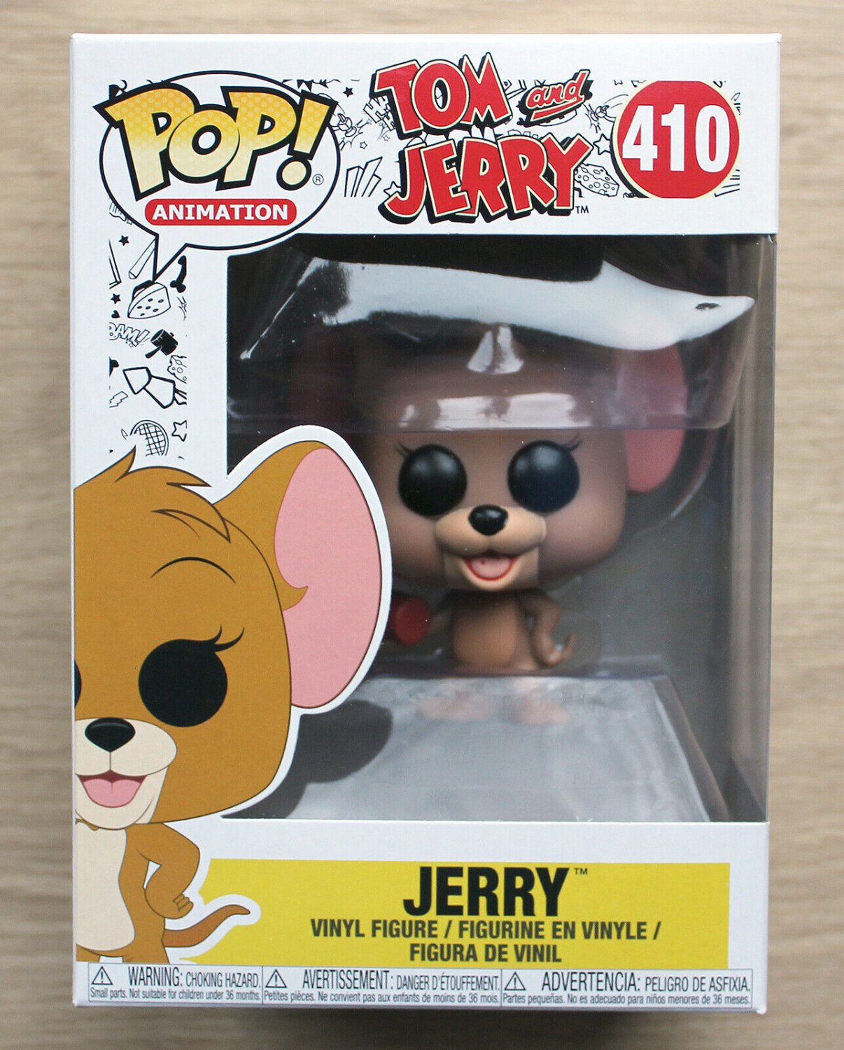 Funko Pop Tom And Jerry - Jerry With Dynamite + Free Protector