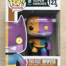 Funko Pop DC Heroes Two-Face Impopster + Free Protector