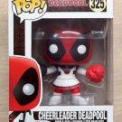 Funko Pop Marvel Deadpool Cheerleader + Free Protector