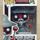 Funko Pop Marvel Deadpool Wizard Deadpool + Free Protector