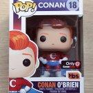Funko Pop Conan O'Brien - Super Conan GameStop + Free Protector