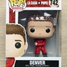 Funko Pop Money Heist (La Casa De Papel) Denver (Box Damage) + Free Protector