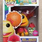 Funko Pop Fraggle Rock Red With Doozer Flocked + Free Protector
