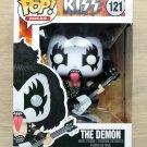 Funko Pop Rocks Kiss The Demon + Free Protector