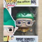 Funko Pop The Office Dwight Schrute As Elf + Free Protector