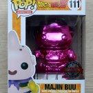 Funko Pop Dragon Ball Z Majin Buu Pink Chrome + Free Protector