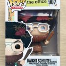 Funko Pop The Office Dwight Schrute As Belsnickel + Free Protector