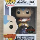 Funko Pop Avatar The Last Airbender Aang On Airscooter + Free Protector