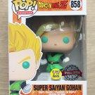 Funko Pop Dragon Ball Z Super Saiyan Gohan GITD + Free Protector
