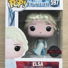 Funko Pop Disney Frozen II Elsa Ocean + Free Protector