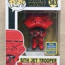 Funko Pop Star Wars Sith Jet Trooper SDCC (Box Wear) + Free Protector