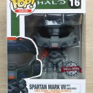 Funko Pop Games Halo Spartan Mark VII With Shock Rifle + Free Protector
