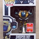 Funko Pop Games Destiny Sweeper Bot SDCC + Free Protector