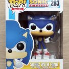 Funko Pop Games Sonic The Hedgehog Sonic With Ring + Free Protector