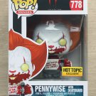 Funko Pop IT Chapter 2 Pennywise With Skateboard + Free Protector