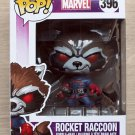 Funko Pop Marvel Guardians Of The Galaxy Rocket Raccoon Classic + Free Protector