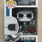 Funko Pop Universal Studios Monsters The Invisible Man B&W + Free Protector