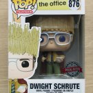 Funko Pop The Office Dwight Schrute As Hay King + Free Protector