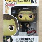 Funko Pop The Office Goldenface Jim Halpert + Free Protector