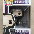 Funko Pop John Wick With Dog + Free Protector