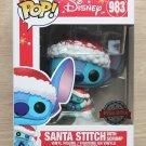 Funko Pop Disney Lilo & Stitch - Santa Stitch With Scrump + Free Protector