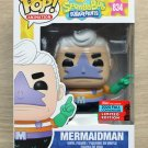 Funko Pop Spongebob Squarepants Mermaidman NYCC + Free Protector
