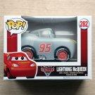 Funko Pop Disney Cars 3 Lightning McQueen Grey + Free Protector