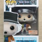 Funko Pop Disney The Haunted Mansion Groundskeeper + Free Protector