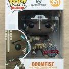 Funko Pop Games Overwatch Doomfist Leopard + Free Protector