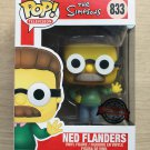 Funko Pop The Simpsons Ned Flanders + Free Protector
