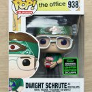 Funko Pop The Office Dwight Schrute As Recyclops ECCC + Free Protector