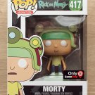Funko Pop Rick And Morty Morty Game Helmet GameStop (Creases) + Free Protector