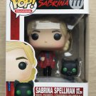 Funko Pop Chilling Adventures Of Sabrina Spellman With Salem + Free Protector
