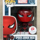 Funko Pop Marvel Spider-Man Spider-Armor MKIII + Free Protector