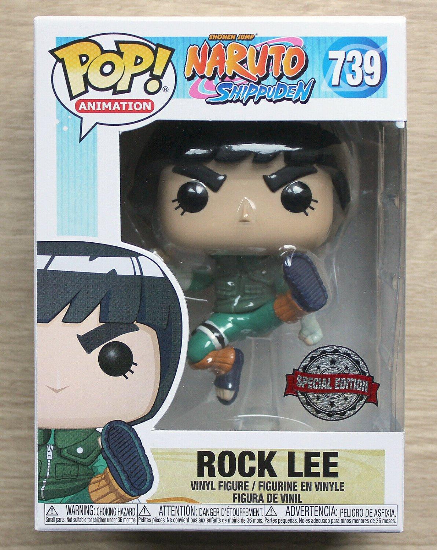 Funko Pop Naruto Shippuden Rock Lee + Free Protector