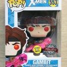 Funko Pop Marvel X-Men Gambit GITD + Free Protector